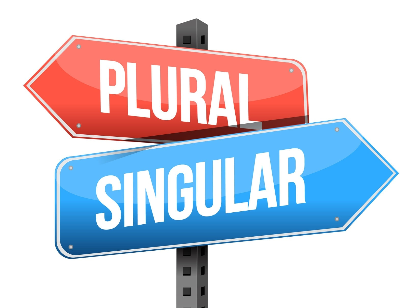 singular vs plural keywords